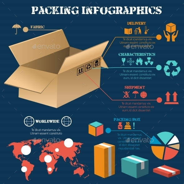 GraphicRiver Packing Infographics Poster 10428114
