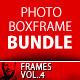 Multi Photo Box Frame Bundle Vol.1 - GraphicRiver Item for Sale