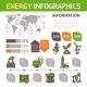Energy Infographics Set - GraphicRiver Item for Sale