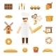 Baker Icons Flat - GraphicRiver Item for Sale