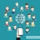 Social Communication Concept - GraphicRiver Item for Sale