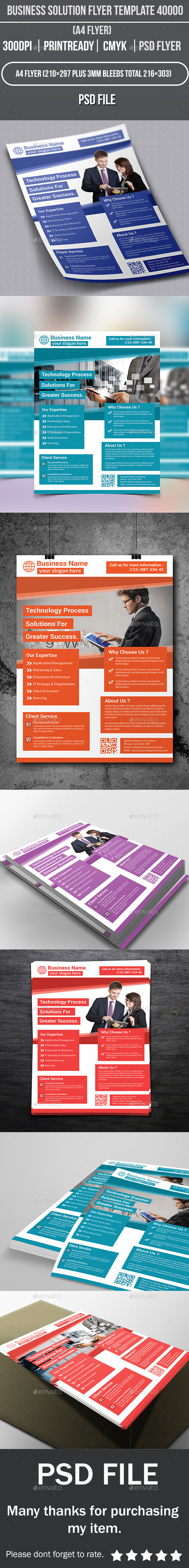 GraphicRiver Business Solution Flyer Template 40000 10429108
