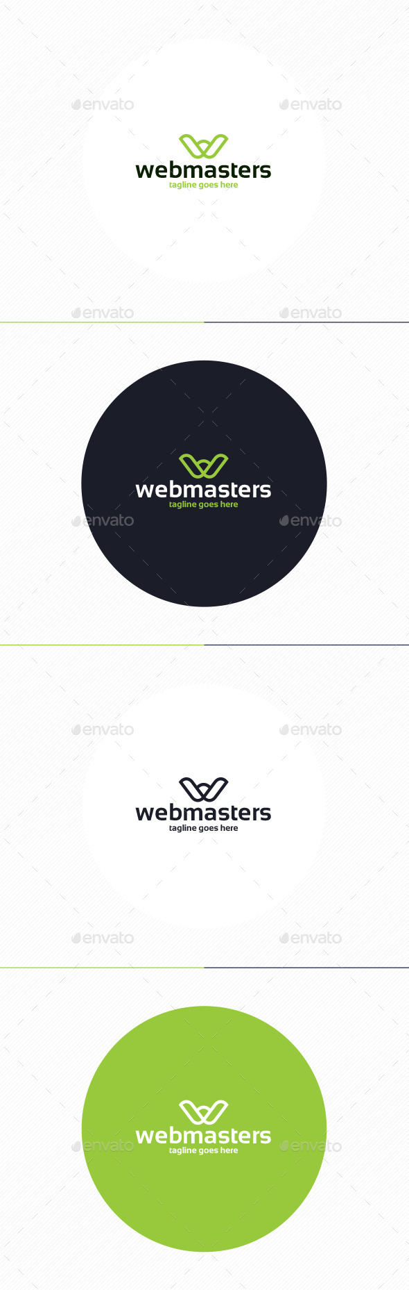 GraphicRiver Web Masters Logo Letter W 10429499
