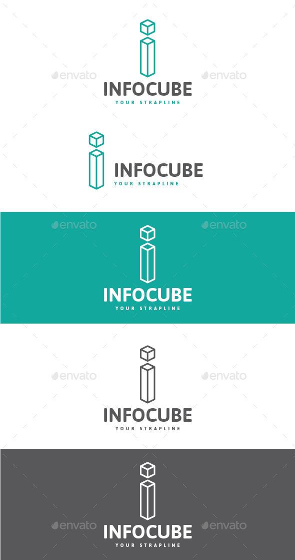 GraphicRiver Info Cube Letter I Logo 10429530