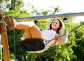 Young woman on swing - PhotoDune Item for Sale