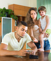 Financial problems in young family - PhotoDune Item for Sale