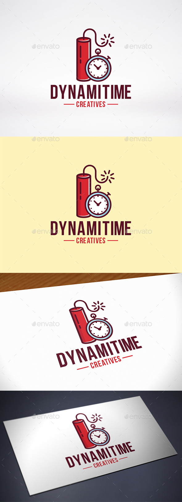 GraphicRiver Dynamite Time Logo Template 10429830