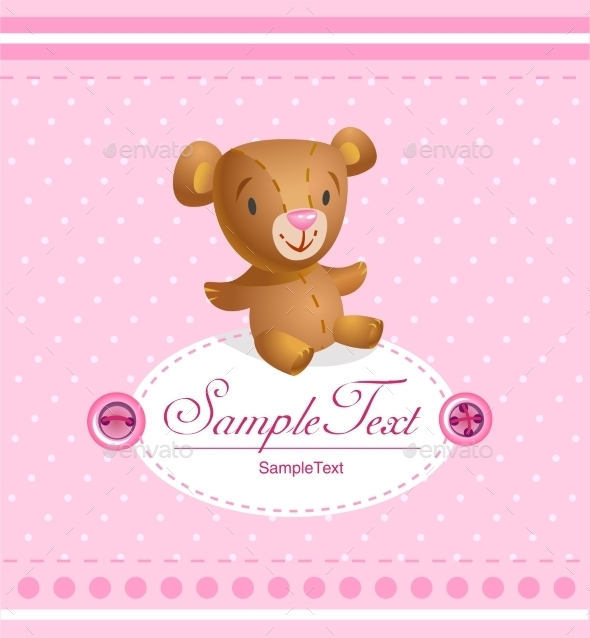GraphicRiver Baby Card 10429836