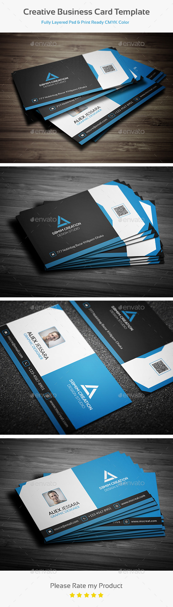 GraphicRiver Creative Business Card Template 10429902