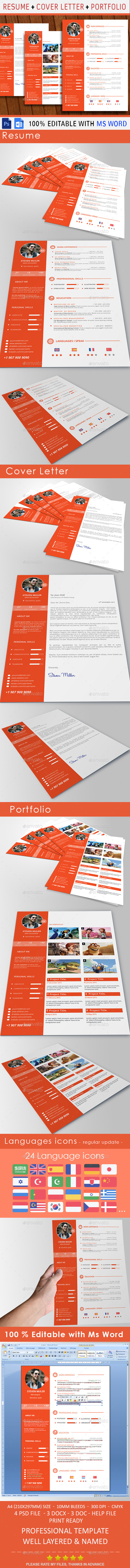 GraphicRiver Resume 10430548