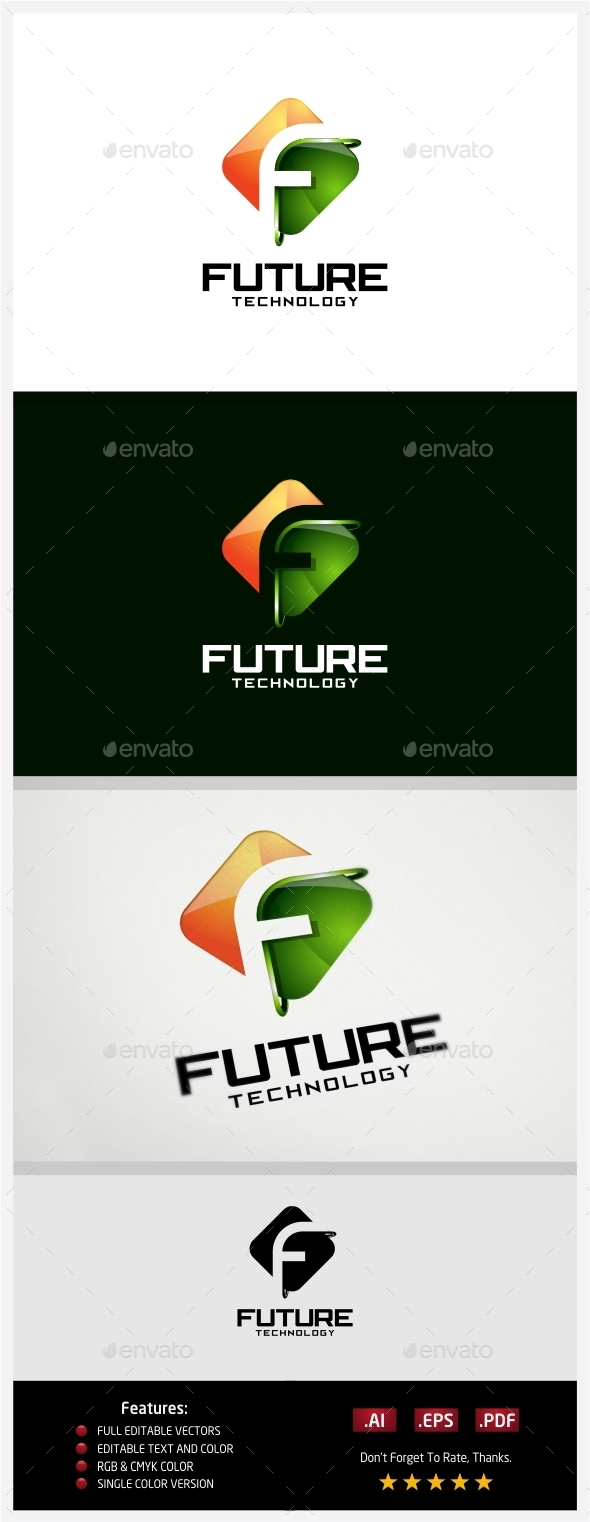 GraphicRiver Future Technology Logo 10430555