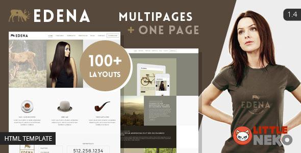 EDENA | Creative & Multipurpose Bootstrap Template - Portfolio Creative