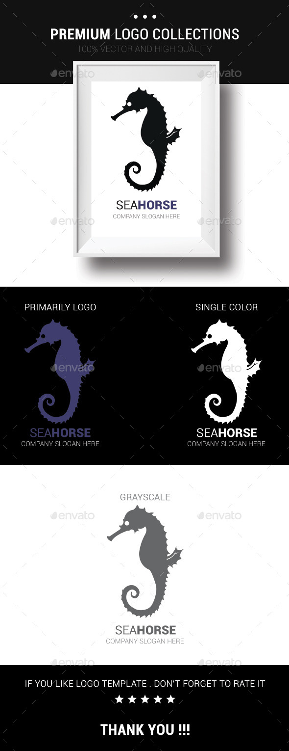 GraphicRiver Sea Horse 10431545