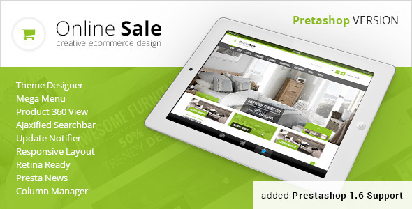 OnlineSale - Premium Prestashop Theme - Shopping PrestaShop