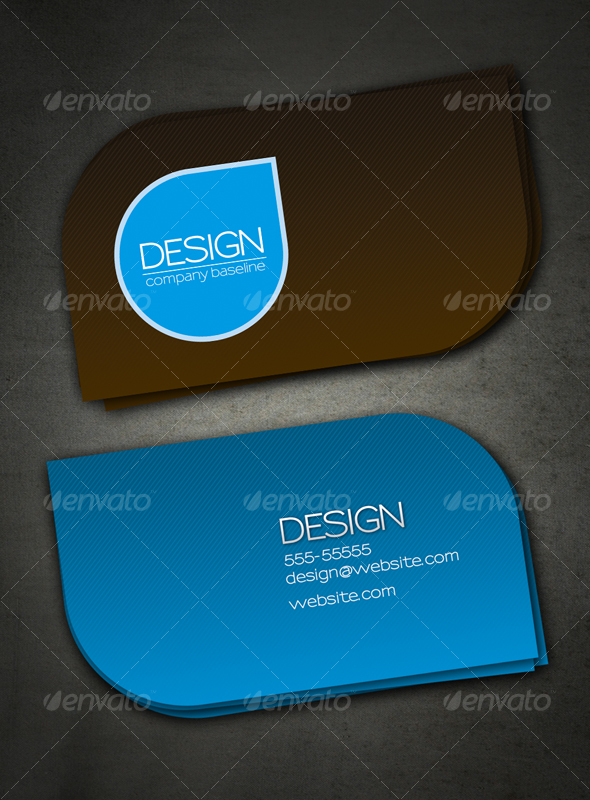 GraphicRiver Minimal Card 43467