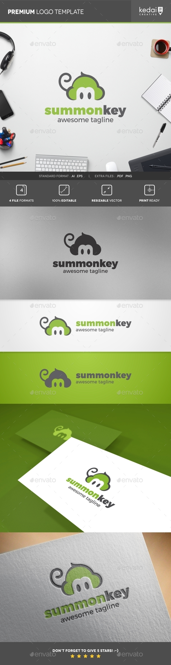 GraphicRiver Summonkey 10397930