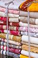 Handmade blankets pile - PhotoDune Item for Sale