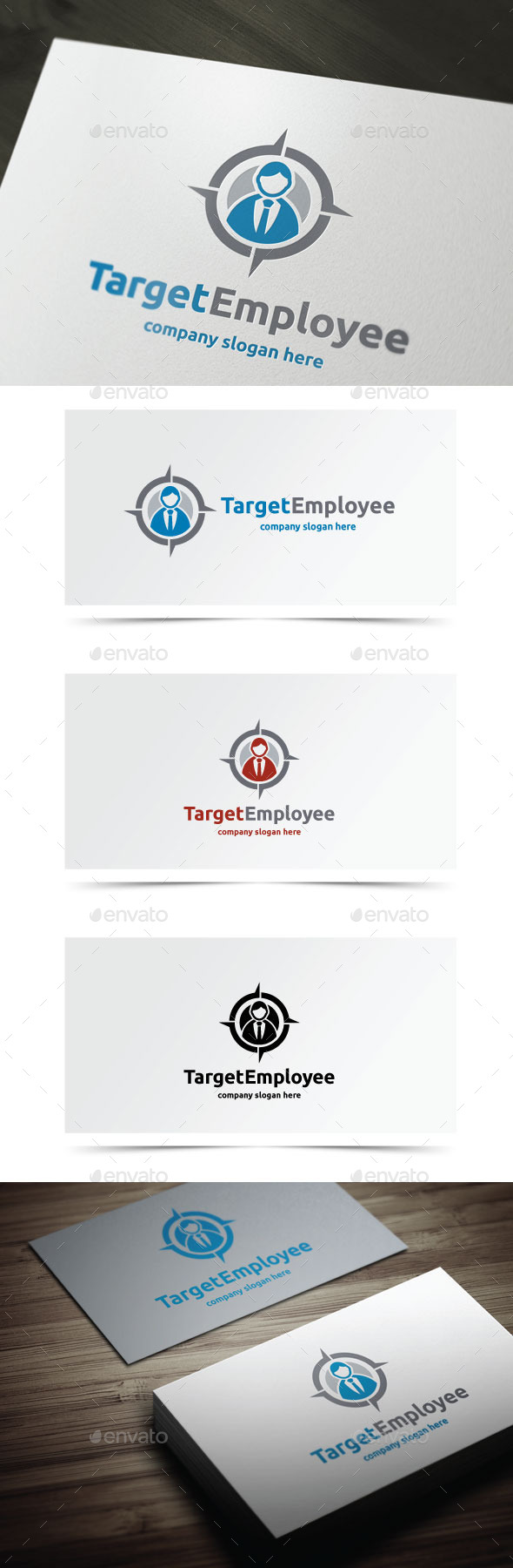 GraphicRiver Target Employee 10432303