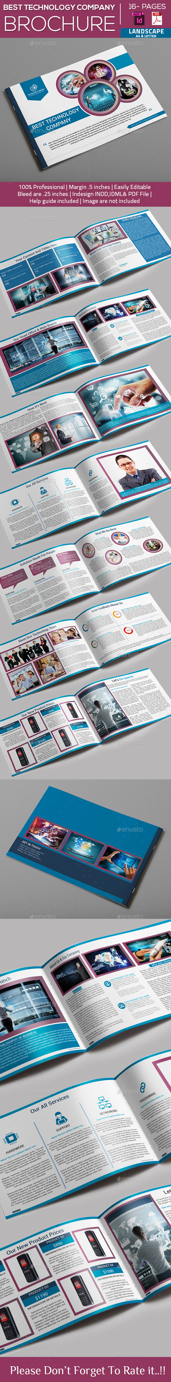 GraphicRiver Best Technology Company Brochure 10432383