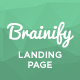 Brainify - Application Landing Page Muse Template - ThemeForest Item for Sale