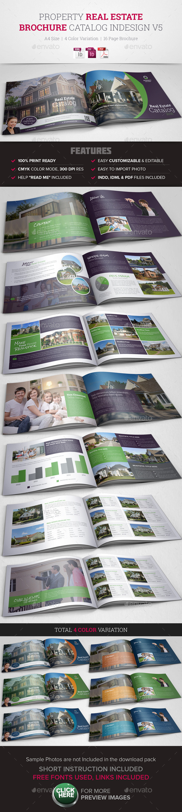 GraphicRiver Real Estate Property Brochure Catalog InDesign v4 10433082