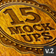 15 Logo Mock-ups v.2 - GraphicRiver Item for Sale