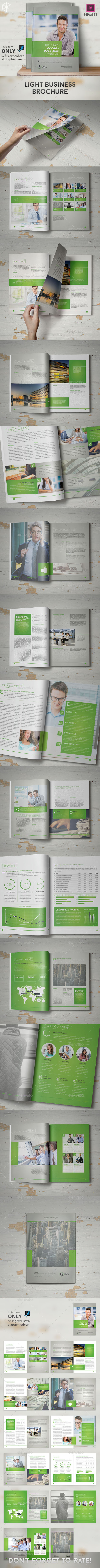 GraphicRiver Light Business Brochure 10434679