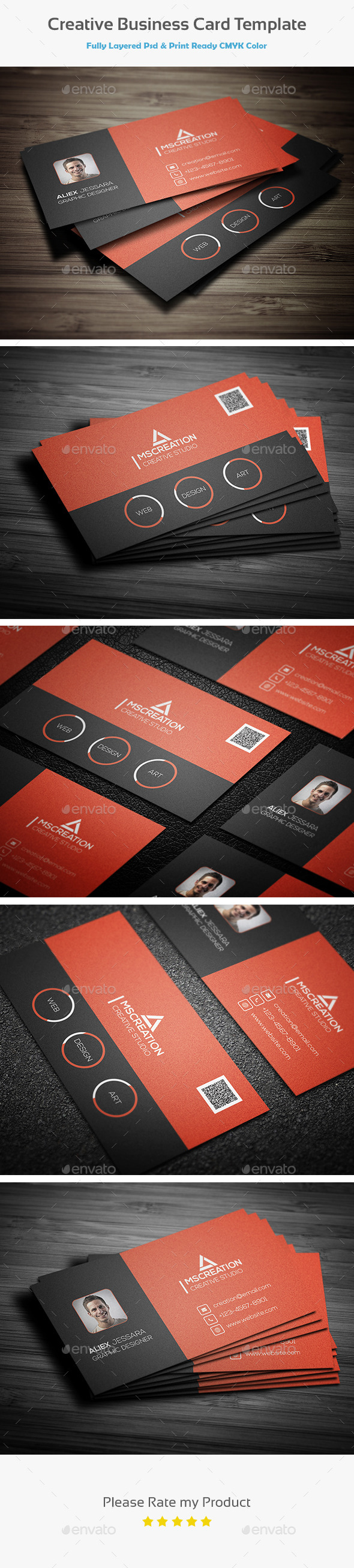 GraphicRiver Creative Business card Template 3 10434766