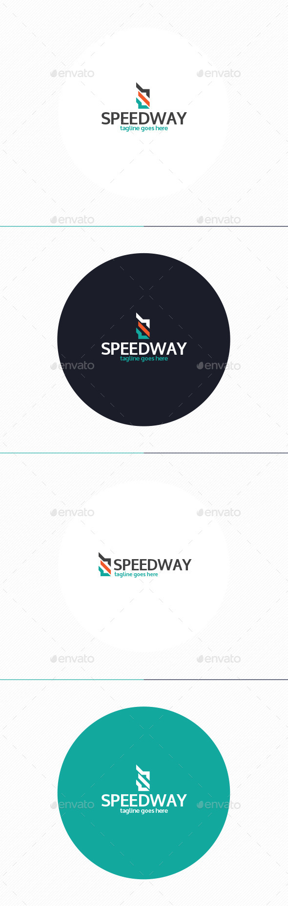 GraphicRiver Speed Way Logo Letter S 10435601