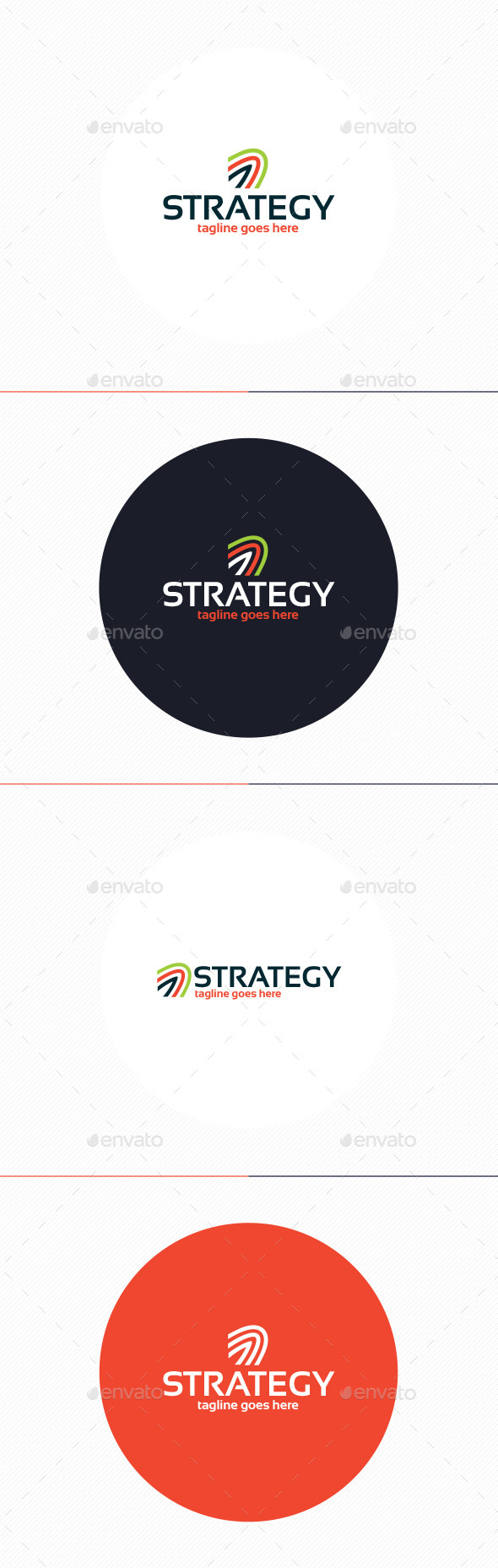 GraphicRiver Strategy Logo 10435673