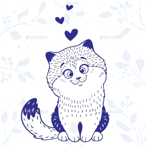 GraphicRiver Kitten Love 10435684