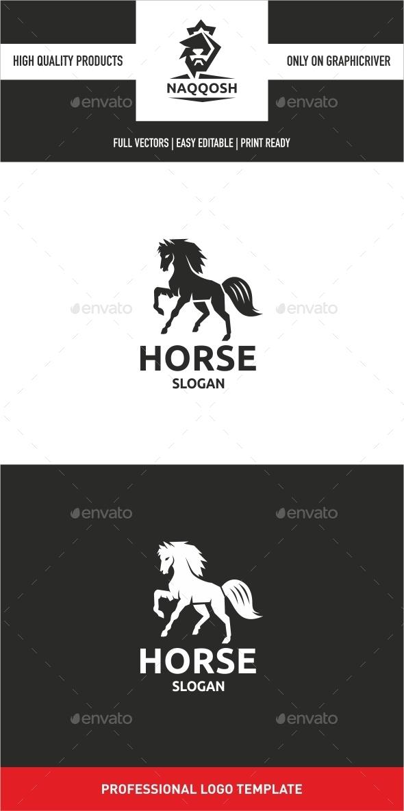 GraphicRiver Horse Logo 10435739