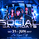 Social Saturdays Flyer - GraphicRiver Item for Sale