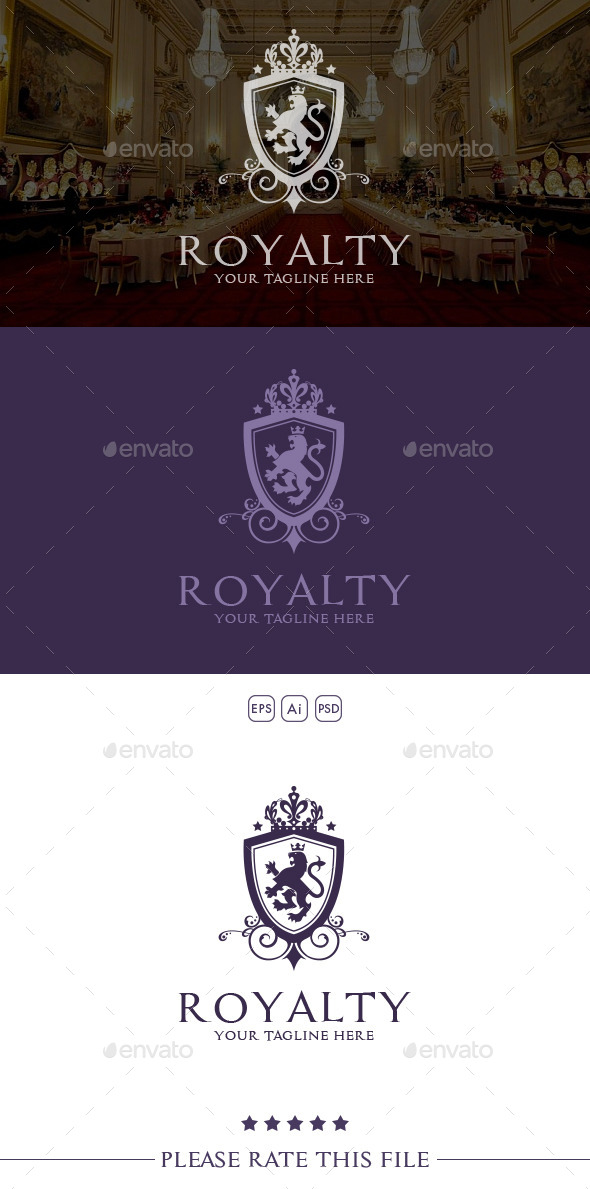 GraphicRiver Regal Lion Logo 10435896