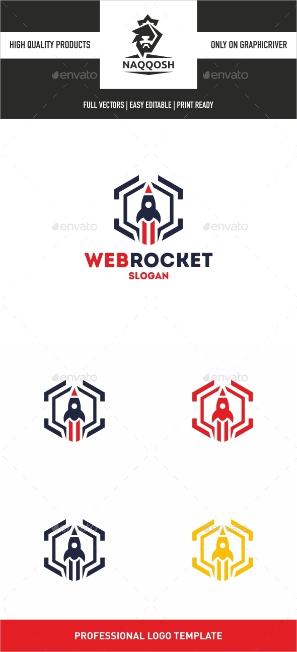 GraphicRiver Web Rocket 10436028