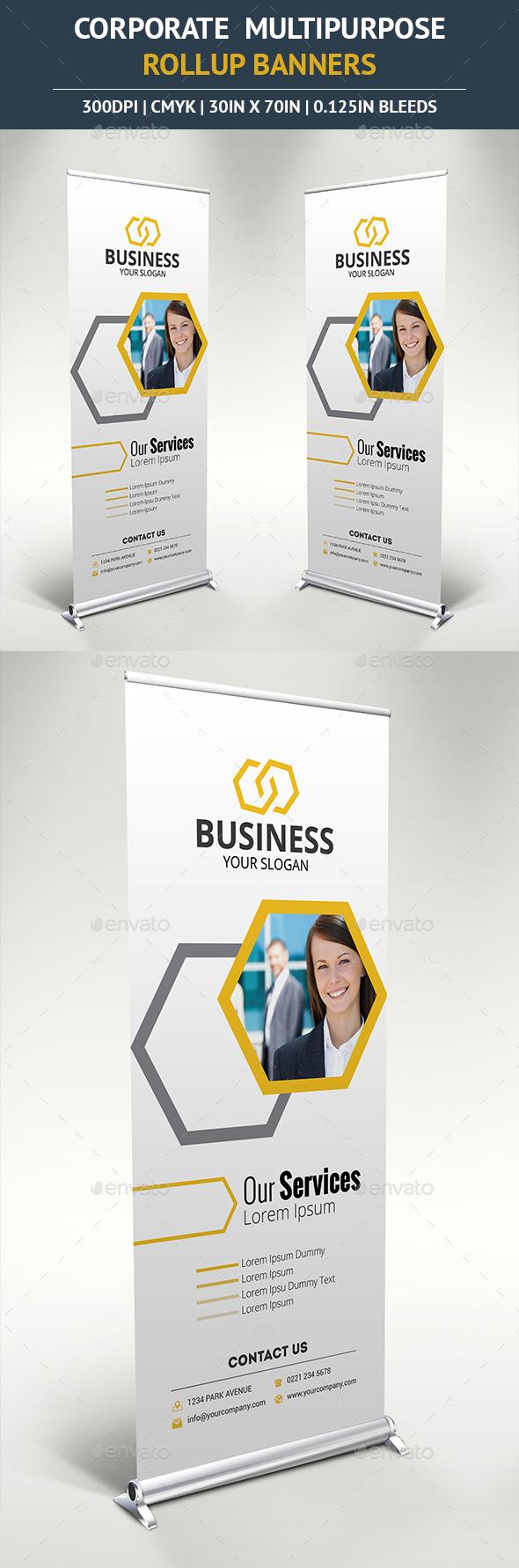 GraphicRiver Corporate Rollup Banner vol6 10390629