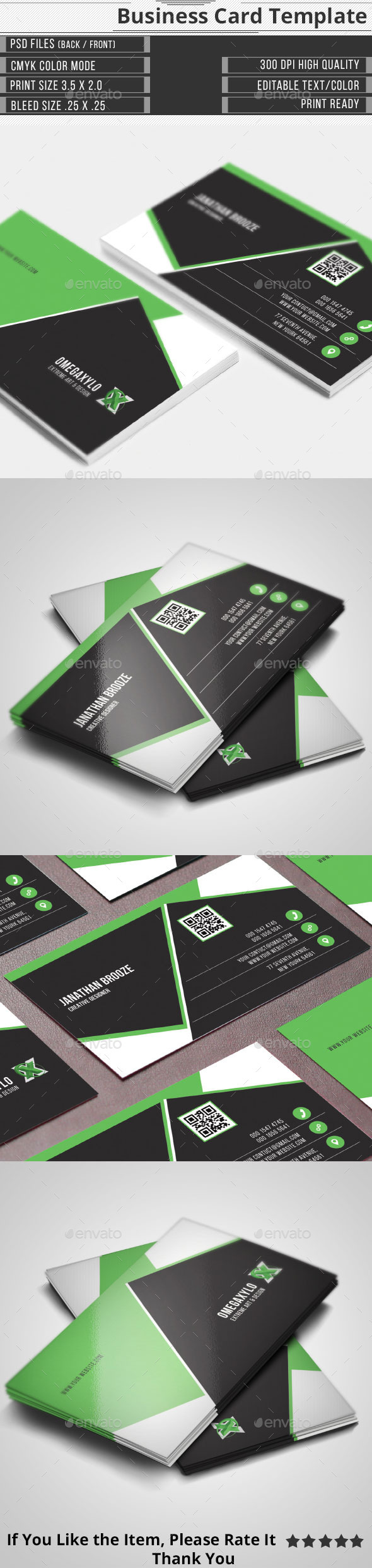 GraphicRiver Elegant Corporate Business Card 10436370