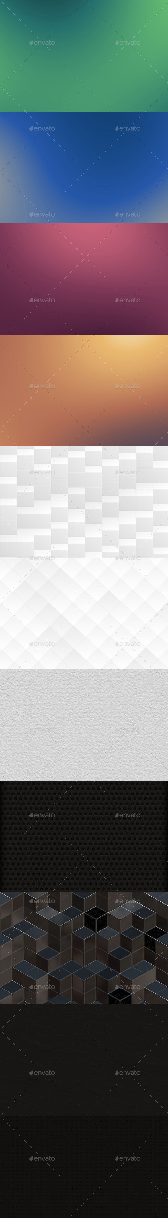 GraphicRiver Abstract Backgrounds Bundle 10436842