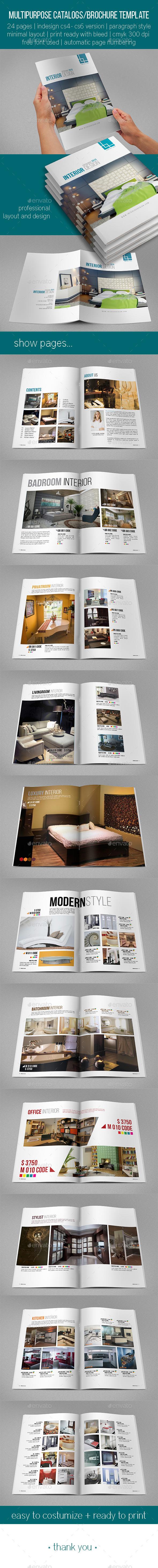 GraphicRiver Multipurpose Catalogs Brochure 10437344