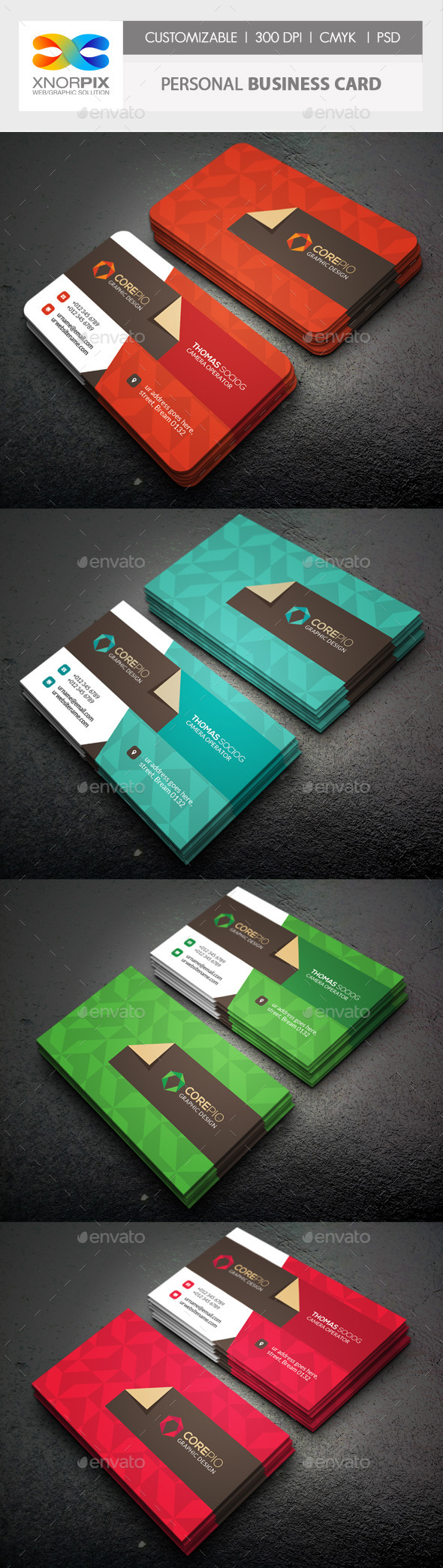GraphicRiver Personal Business Card 10438119