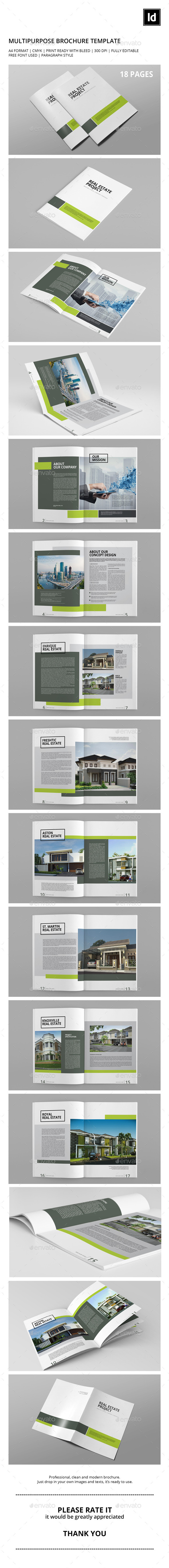 GraphicRiver Multipurpose Brochure Template 10438285
