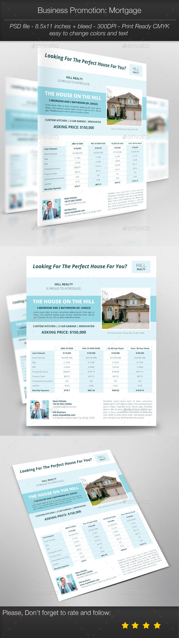 GraphicRiver Business Promotion Mortgage 10438522