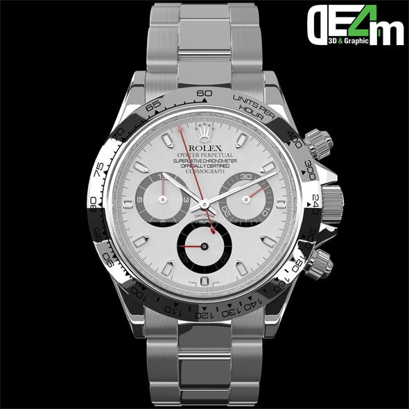 3DOcean Watch Rolex Daytona 10438857