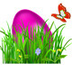 Green Grass with Easter Eggs - GraphicRiver Item for Sale