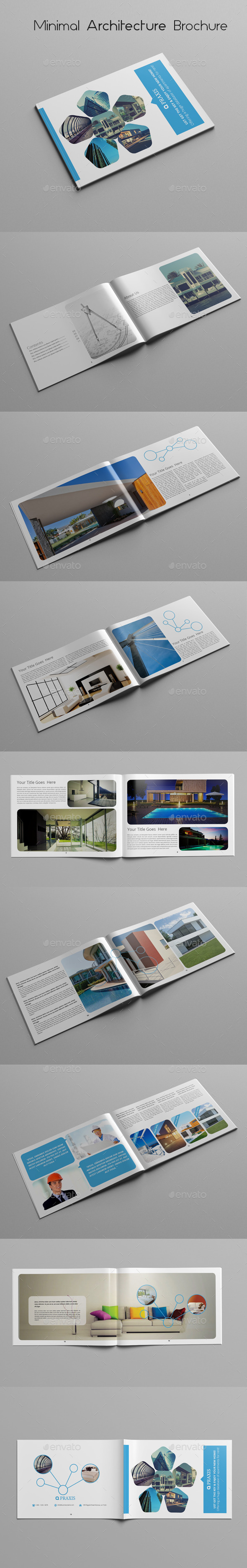 GraphicRiver Minimal Architecture Brochure 10439112