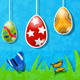 Easter Background Made Of Paper - GraphicRiver Item for Sale
