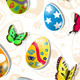 Seamless Pattern of Easter Eggs - GraphicRiver Item for Sale