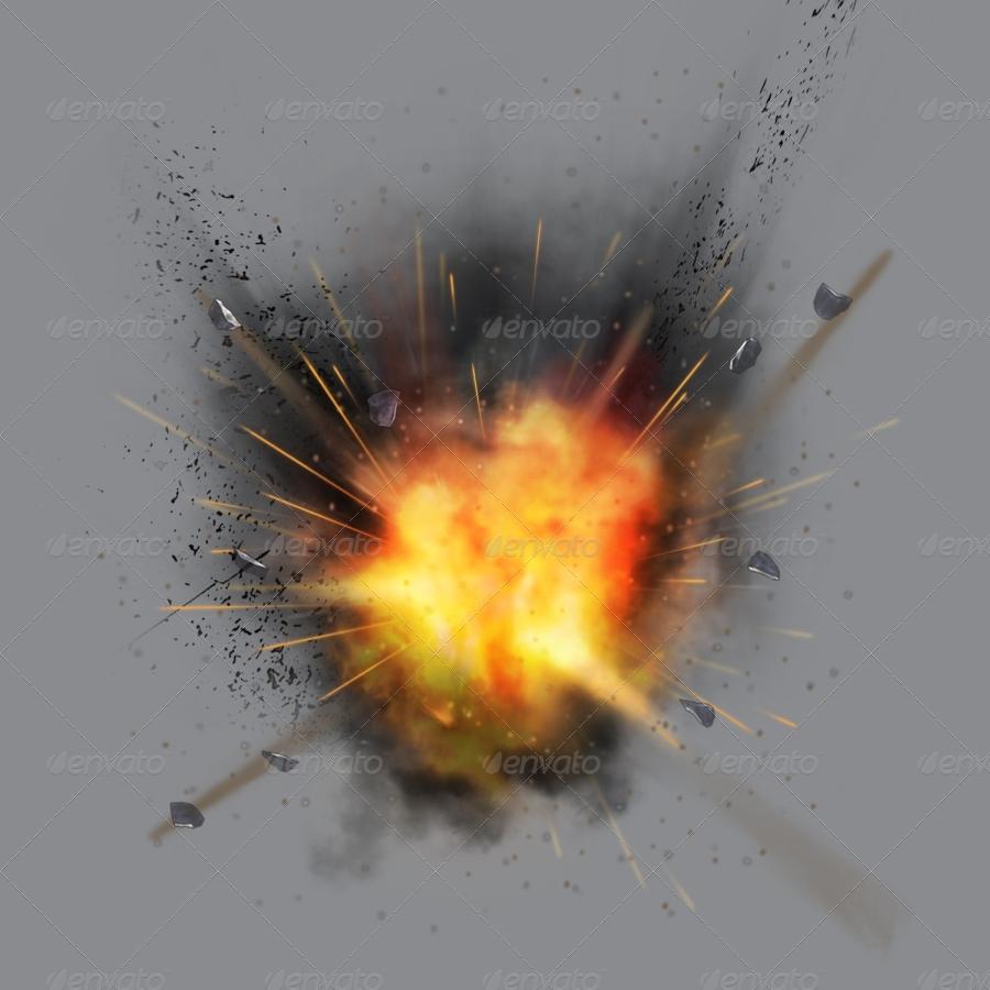 Smoke Explosion on Green Screen - YouTube