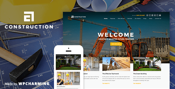 ThemeForest Construction WP Construction Building Business 10439297