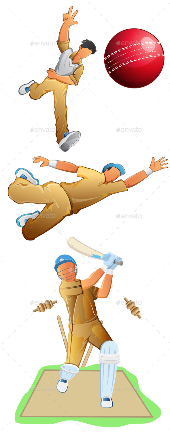 Cricket Player Set